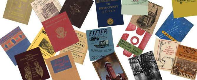Historical Books of Reading, PA and Berks County