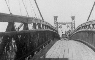 Philadelphia & Reading Railroad Swinging Bridge