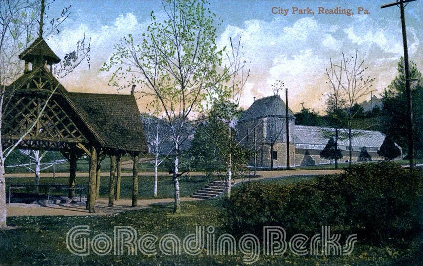 City Park Spring House