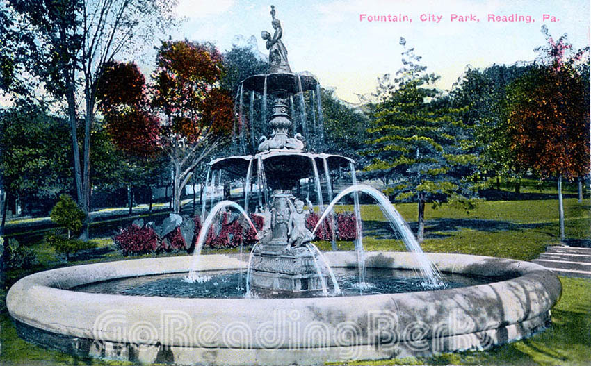 Fountain, City Park, Reading, PA