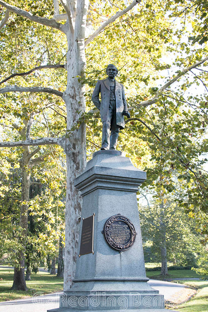 Frederick Lauer Monument, Reading City Park