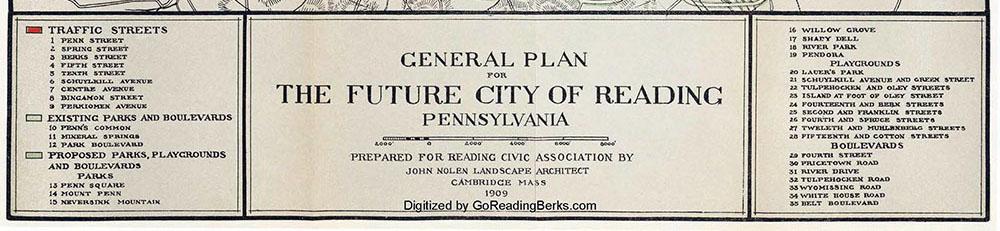 John Nolen – The Future City of Reading Pennsylvania