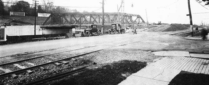 Iron Bridge Construction Photo