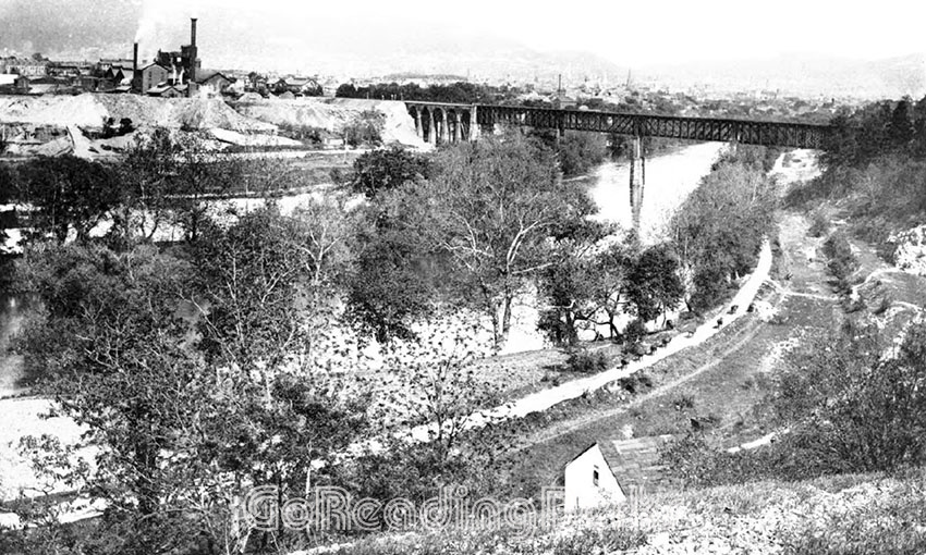 Lebanon Valley Railroad Bridge in 1897