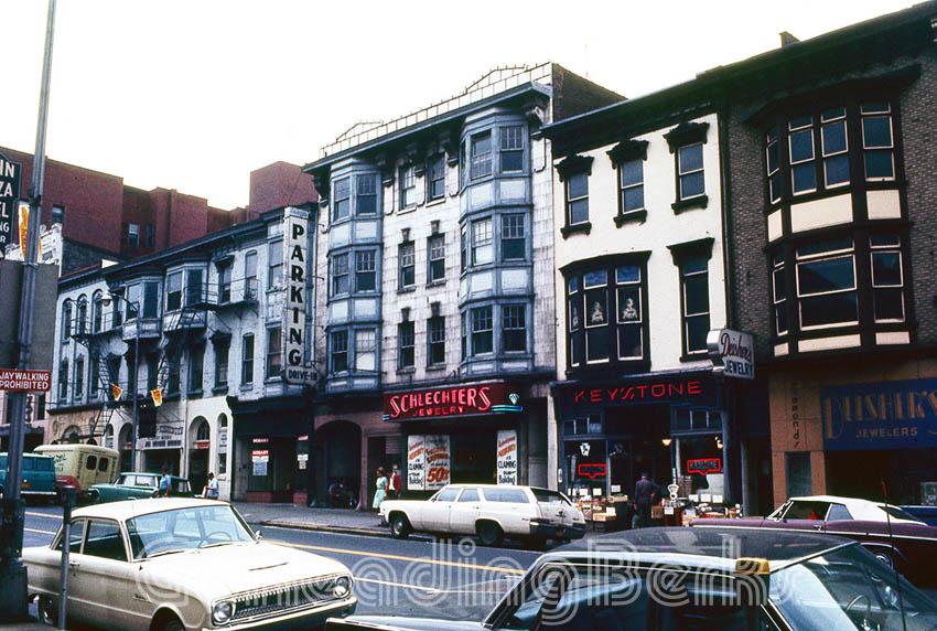 The 800 block of Penn Street circa 1960s.