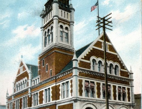 Plan Mix-up: Post Office designed for a Southern City