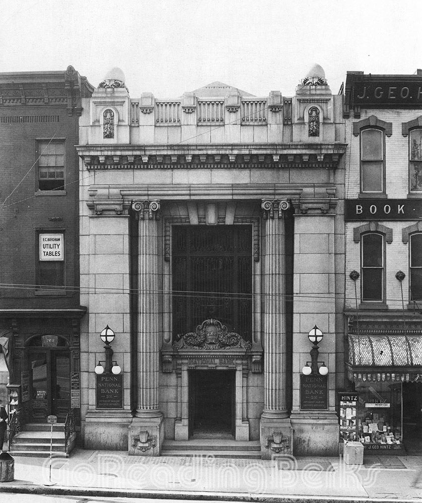 Penn National Bank, 758 Penn Street.