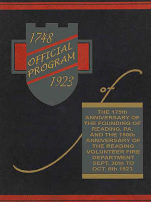 Official program of the 175th anniversary Reading, PA