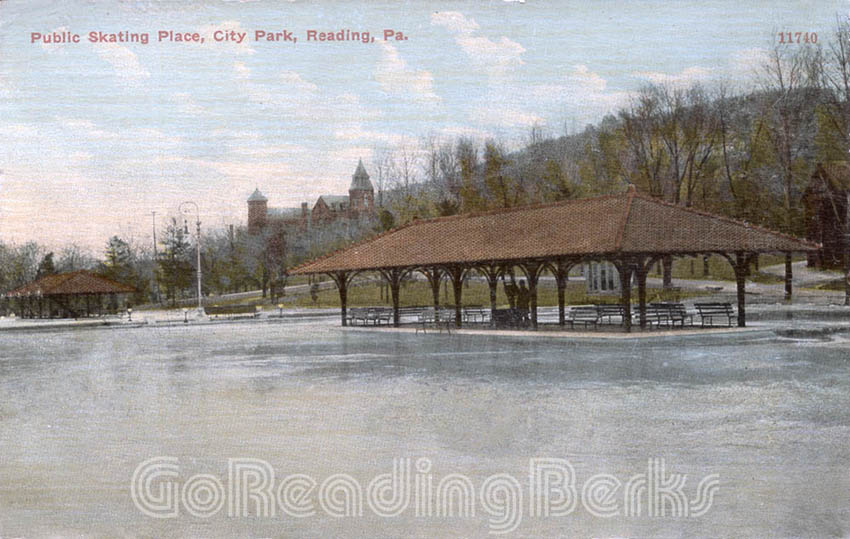 Skating Rink, City Park, Reading, PA