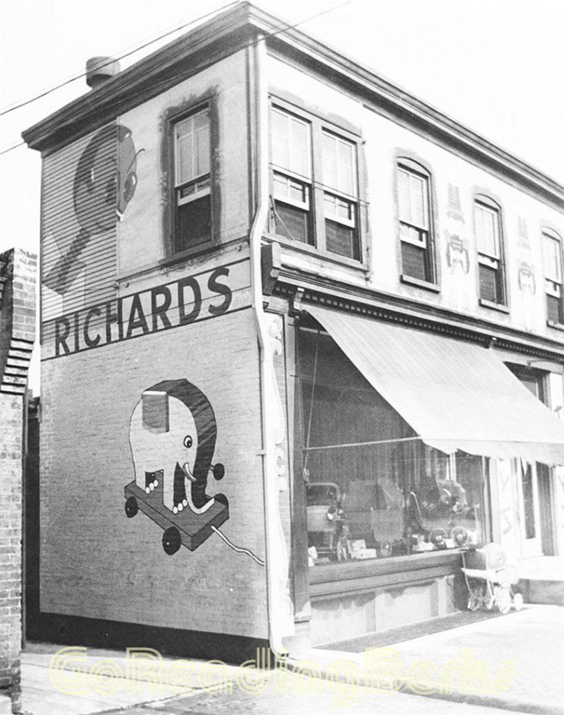 Richards' toy corner