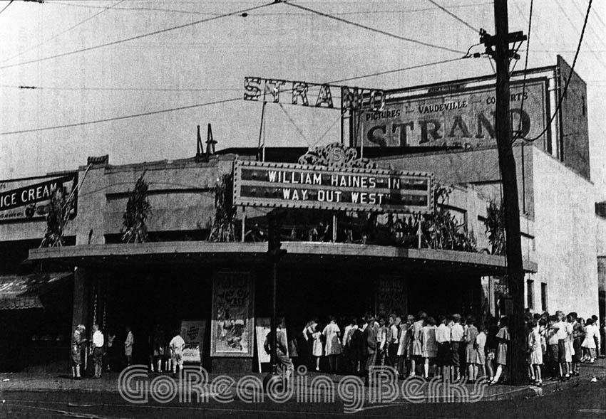 The Strand Theater, 1931