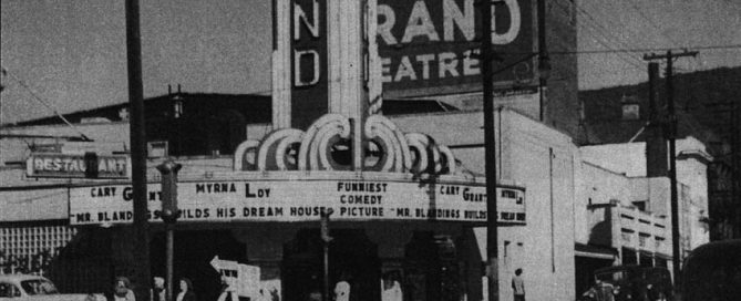 The Strand Theater, 1948
