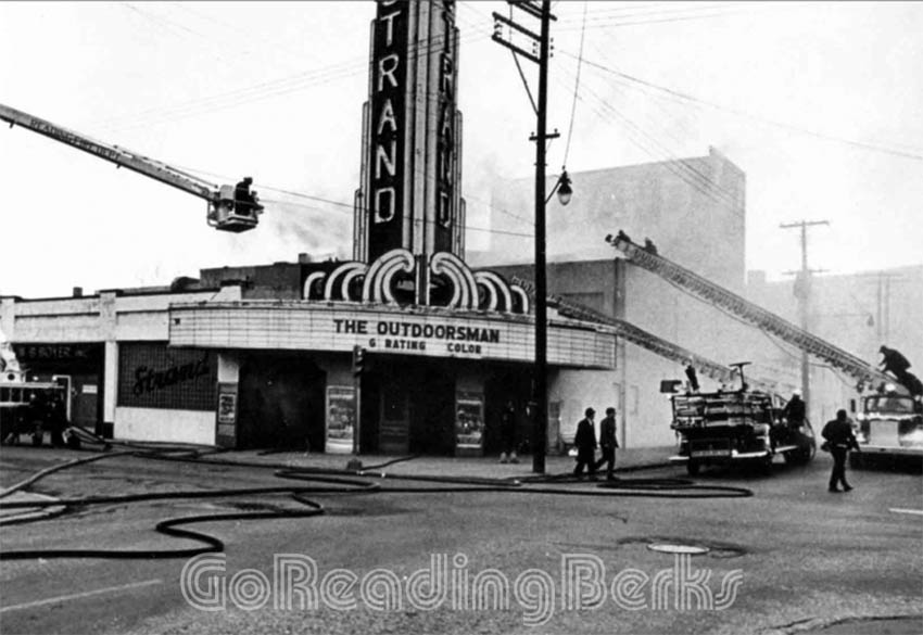 Strand Theater Fire, 1975