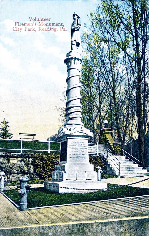 Volunteer Firemen's Monument