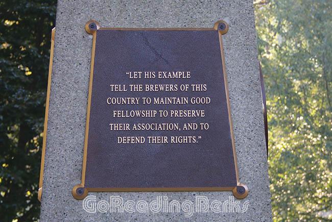 Frederick Lauer Monument