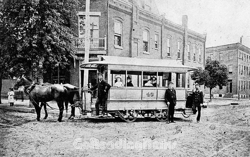 City Passenger Railway Co. horsecar