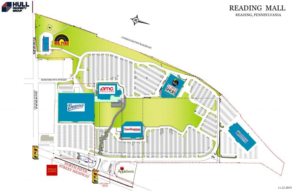 Reading Fairgrounds Plan