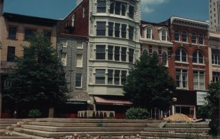 Removal of Penn Square Pedestrian Mall in 1993