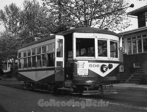 Trolleys of Reading and Berks County Pennsylvania