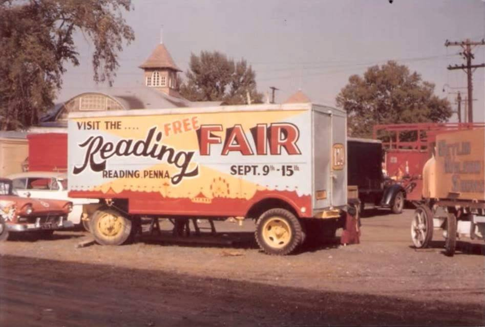 The Reading Fairgrounds in Muhlenberg Township