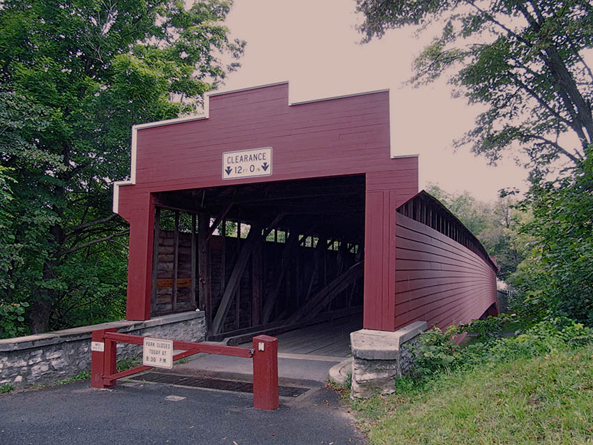 Wertz's Red Covered Bridge