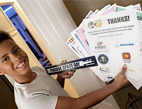 Weiser Student to Attend Purdue Space Day