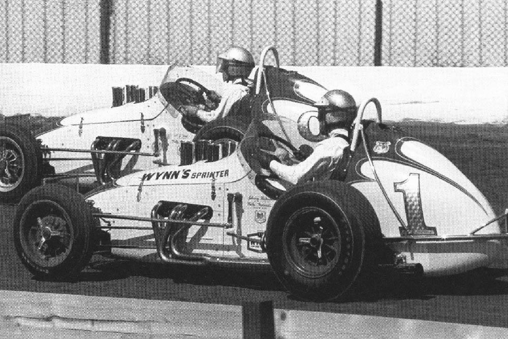 Mario Andretti and Lone Star JR