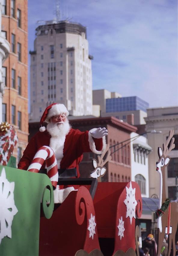 Santa Claus Holiday Parade 2014