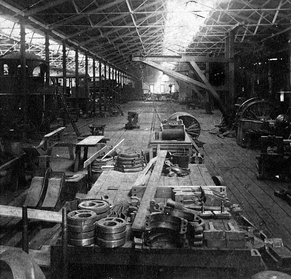 Philadelphia & Reading Locomotive Shops