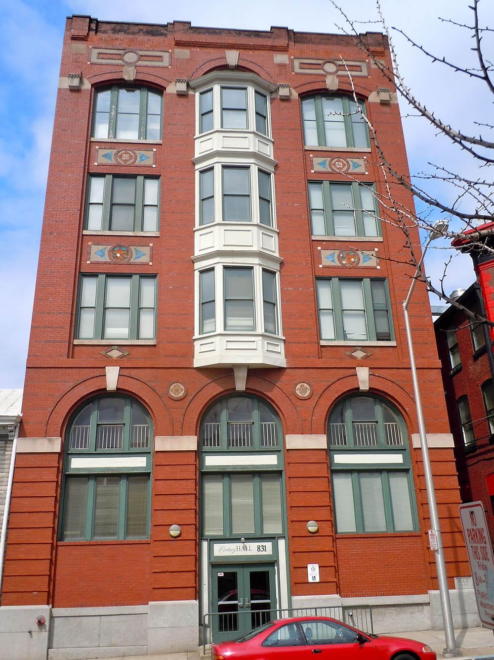 Red Men's building