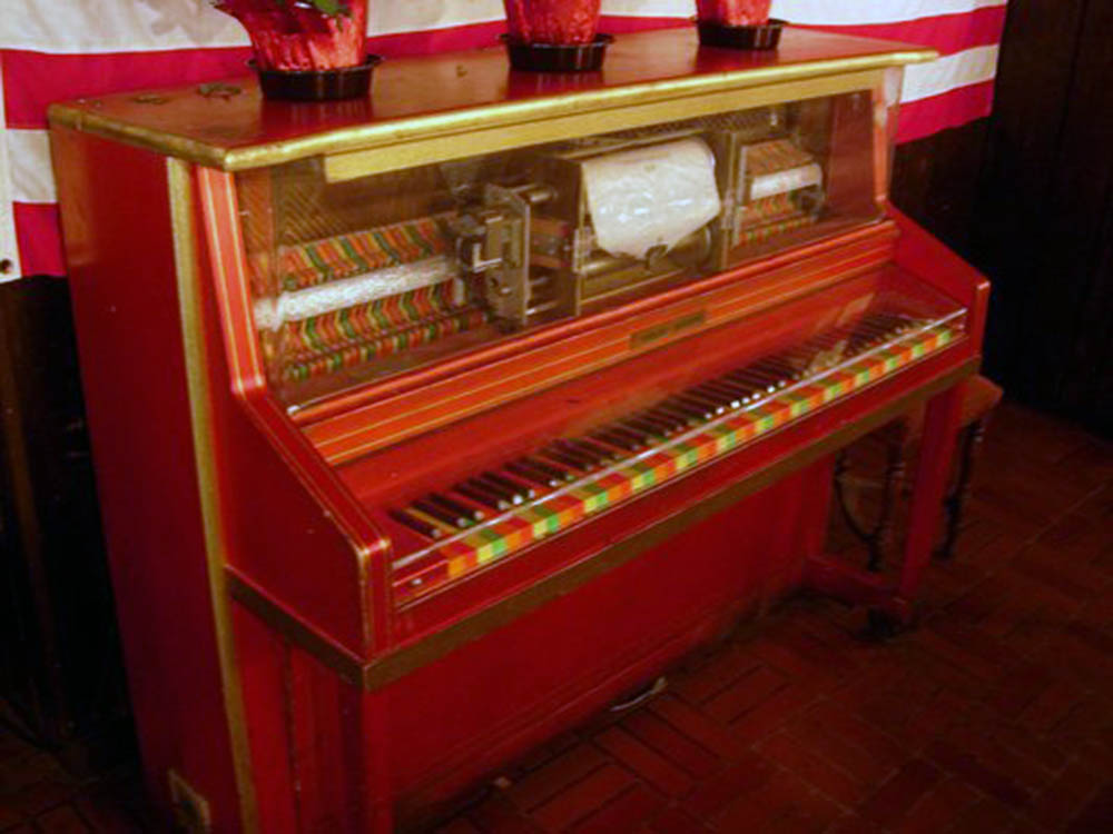Pappy's Pizza Player Piano