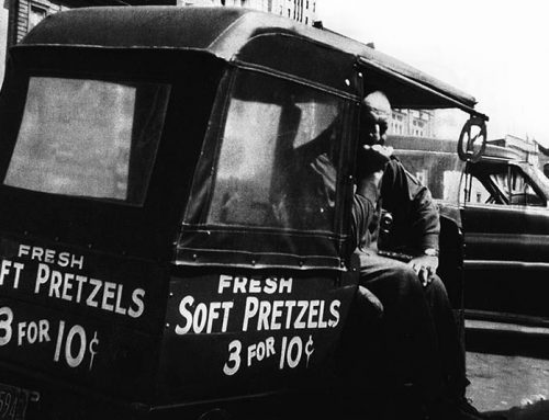 Harry S. Kline – the Soft Pretzel Man at Fifth and Penn Streets, Reading