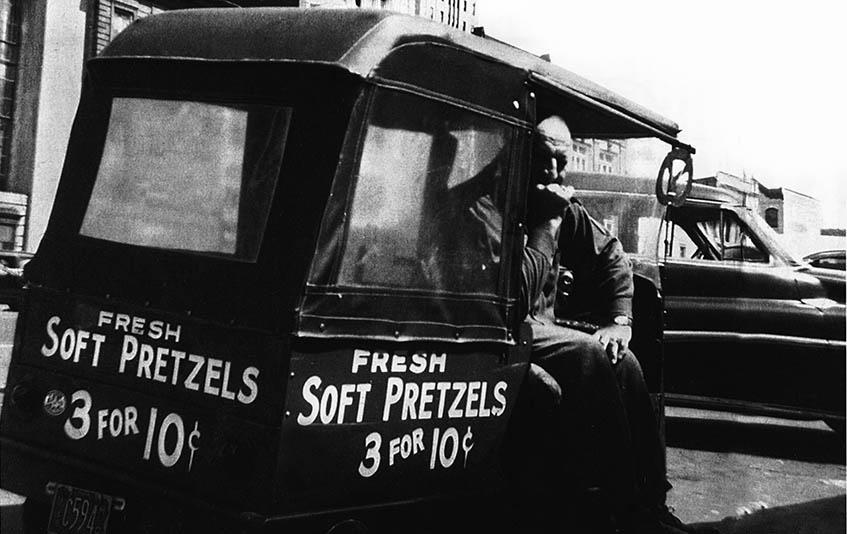 Harry S. Kline Soft Pretzel Man