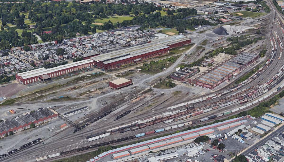 Reading Railroad facilities