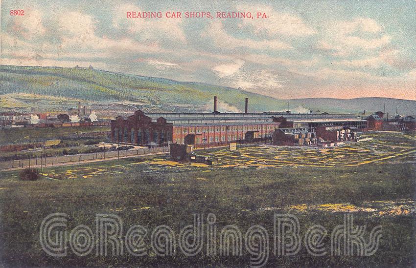 Reading Railroad Engine Shop