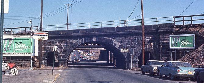Skew Arch Bridge in Reading, PA