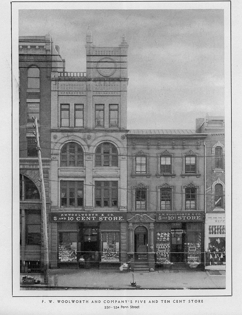 F. W. Woolworth , 530-534 Penn Street