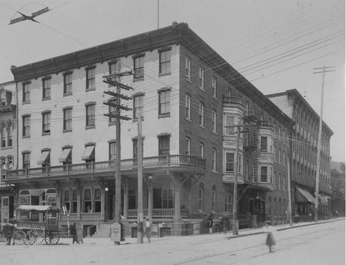 Northwest corner of Sixth and Penn Streets – Hotel Penn