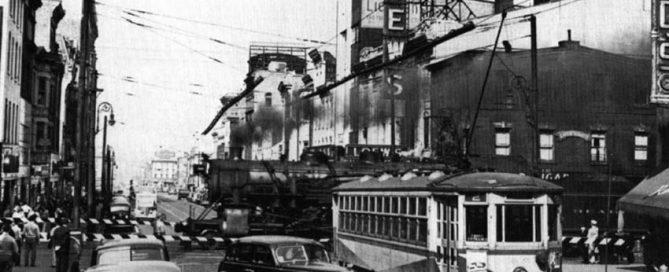 Seventh and Penn Street Railroad Crossing