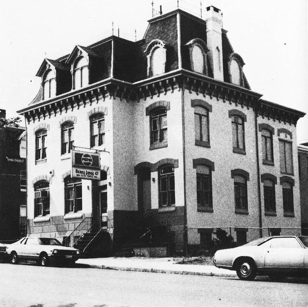 Franklin P. Lauer's mansion