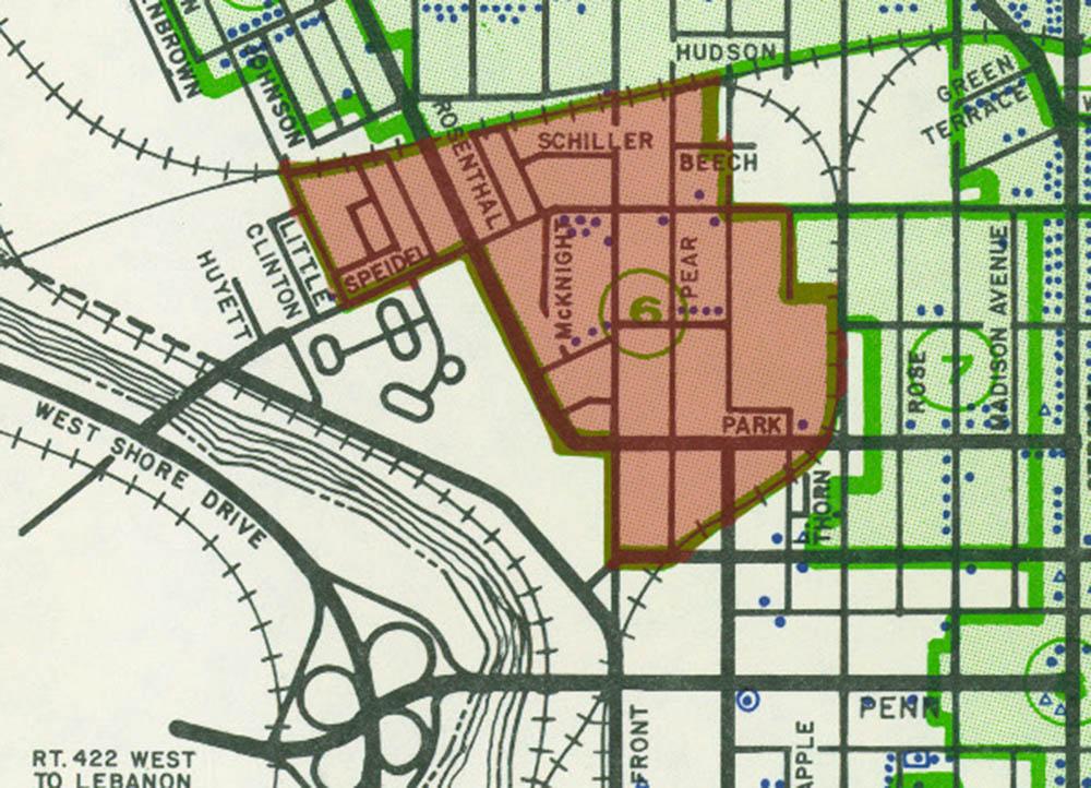 Ricktown Historic District